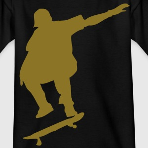 skateboard x games logo sport skate board Kinder shirts - Teenager T-shirt