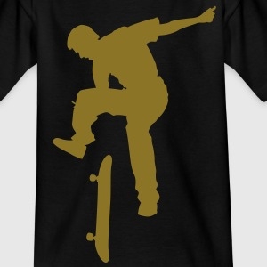 skateboard x games logo sport skate board Kids' Shirts - Teenage T-shirt