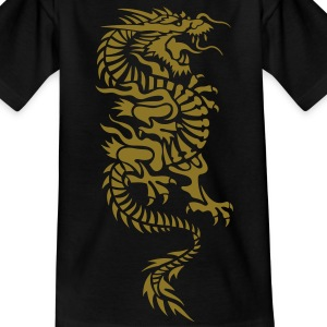 chinese dragon tribal Kids' Shirts - Teenage T-shirt