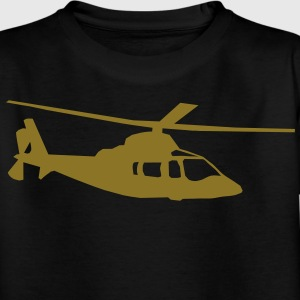 helicopter kids military rc Barn-T-shirts - T-shirt tonåring