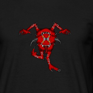 Red demon T-shirts - Herre-T-shirt