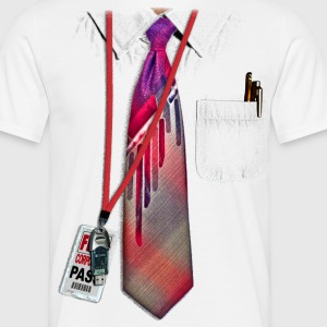 White Corporate Shirt - Camiseta hombre