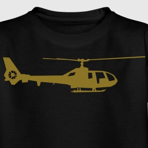 helicopter kids military rc Camisetas niños - Camiseta adolescente