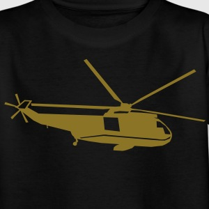 helicopter kids military rc Tee shirts Enfants - T-shirt Ado