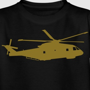 helicopter kids military rc Kinder shirts - Teenager T-shirt