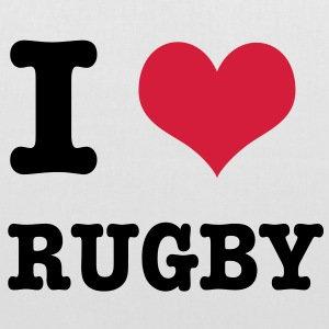 I Love Rugby Bags  - Tote Bag
