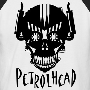 Mens Baseball Petrolhead tee shirt - Men's Baseball T-Shirt
