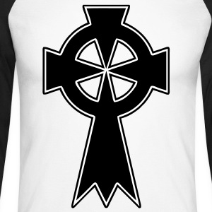 celtic_cross Tee shirts manches longues - T-shirt baseball manches longues Homme