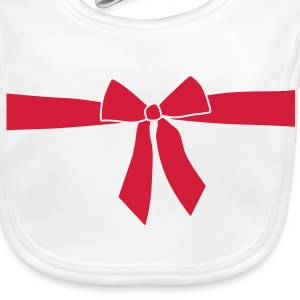 Gift, Christmas, birthday, gift ribbon Accessories - Baby Organic Bib