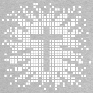 Heather grey cruz - church - religion - jesus - design Camisetas bebés - Camiseta bebé