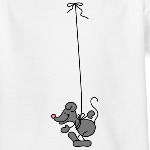 The Mouse hangs around Kinder shirts - Teenager T-shirt