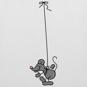 The Mouse hangs around Torby - Torba materiałowa