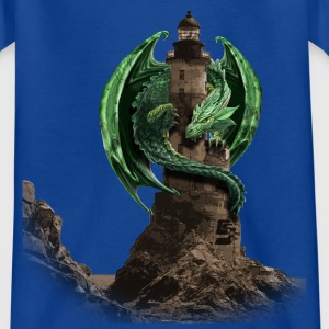 dragon lighthouse by customstyle Tee shirts Enfants - T-shirt Ado
