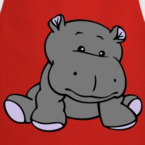 Hippo Baby (3C)  Aprons - Cooking Apron