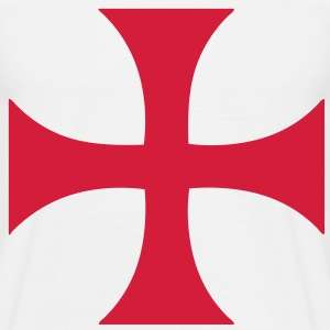 cross_of_the_templars Tee shirts - T-shirt Homme