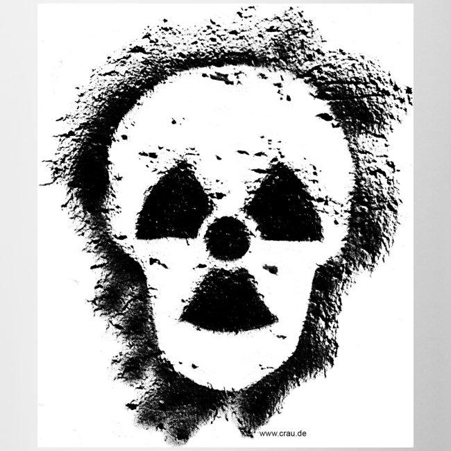 Anti-Atomkraft Graffiti (vorne)