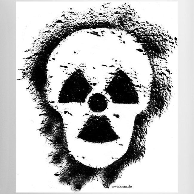 Anti-Atomkraft Graffiti (links)