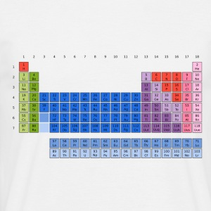 Periodensystem der Elemente (PSE) Periodic Table of the Elements T-Shirts - Männer T-Shirt