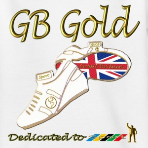 Great Britain Gold Kids Sports Design - Teenage T-shirt