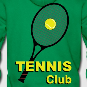 tennis_club Sweat-shirts - Sweat-shirt à capuche Premium pour hommes