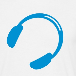 Headphones Music T-Shirts - Men's T-Shirt