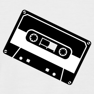 Minimal - Electro - DJ - Cassette - Audio Tee shirts - T-shirt baseball manches courtes Homme