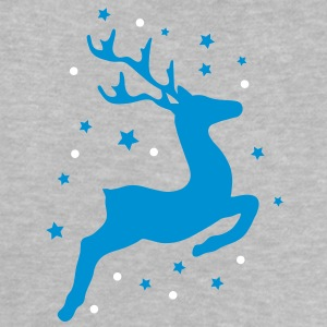 leaping reindeer Baby Shirts  - Baby T-Shirt