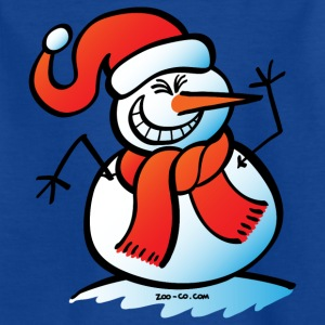 Naughty Snowman Kids' Shirts - Teenage T-shirt