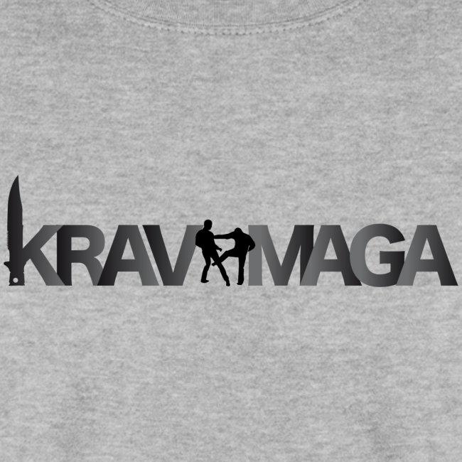 36c3cf94323b Sweat-shirt Krav Maga Homme Gris