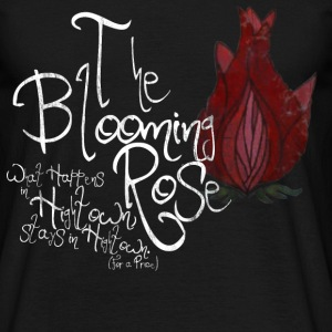The Blooming Rose Design T-Shirts - Men's T-Shirt