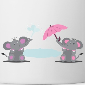 Elephants Mugs  - Mug