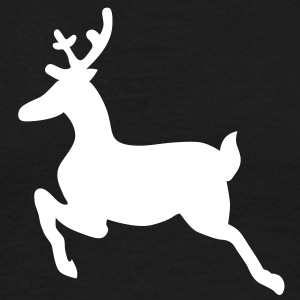 Christmas Reindeer deer T-Shirts - Men's T-Shirt