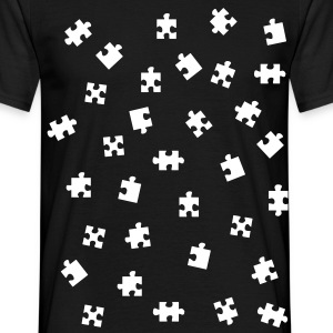 pussel - jigsaw puzzle T-shirts - T-shirt herr