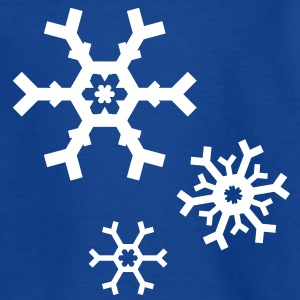 Snow Snowflake flakes Kids' Shirts - Teenage T-shirt