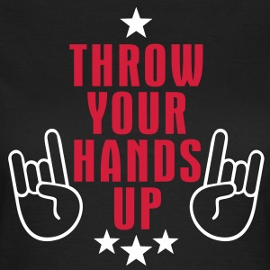 MANO CORNUTA - THROW YOUR HANDS UP | Frauenshirt klassisch - Frauen T-Shirt