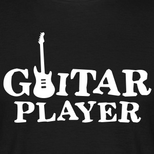 guitar player Tee shirts - T-shirt Homme