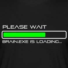 spruch_brain_exe_2 T-Shirts