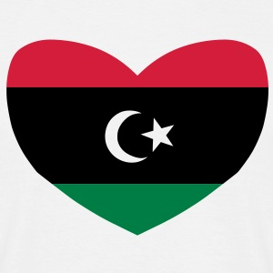 Love Libya T-Shirts - Men's T-Shirt