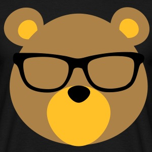 Bear with Glasses T-Shirts - Men's T-Shirt