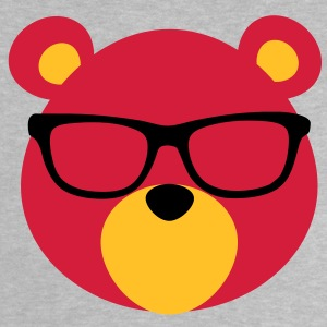 Bear with Glasses Baby Shirts  - Baby T-Shirt