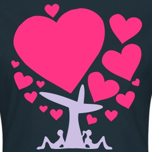 big love - tree of love (2c) T-Shirts - Frauen T-Shirt