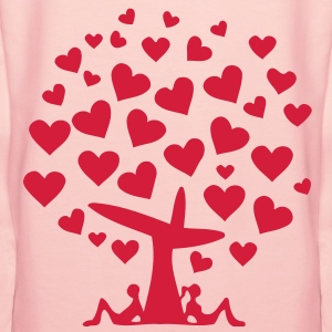 tree of love (1c) Pullover - Frauen Premium Hoodie