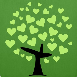tree heart  (2c) Bags  - EarthPositive Tote Bag