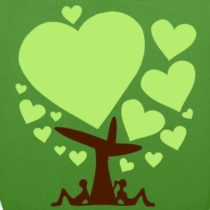 big love - tree of love (2c) Taschen - Bio-Stoffbeutel