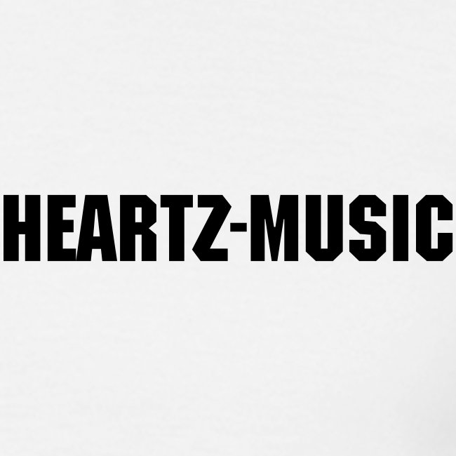 heartz-music white t-shirt