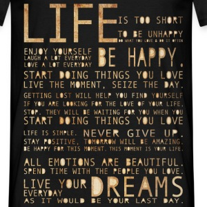 LIFE T-Shirts - T-shirt Homme