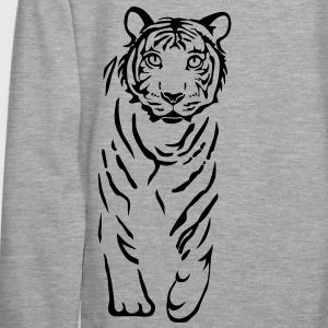 chat tigre lion Sweat-shirts - Sweat-shirt à capuche Premium pour femmes