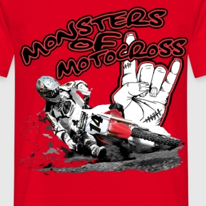 monsters_of_motocross_22 T-Shirts - Männer T-Shirt