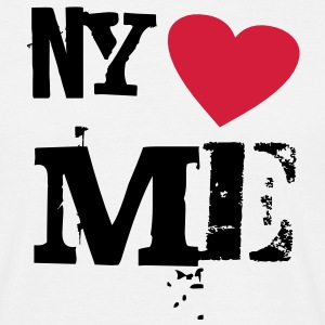 NY loves Me - Männer T-Shirt