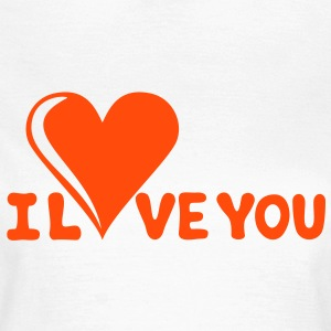 I LOVE YOU - Romance - Valentine's Day - Heart - Gift T-Shirts - Women's T-Shirt